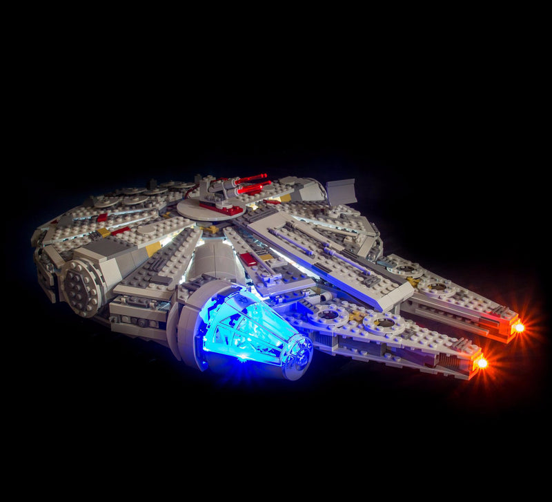 LEGO Star Wars Millennium Falcon 75105 Light Kit (LEGO Set Are Not Included ) - My Hobbies
