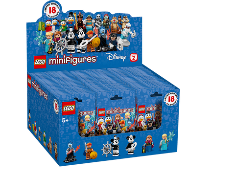 LEGO 71024 Minifigures Disney Series 2 Full Box