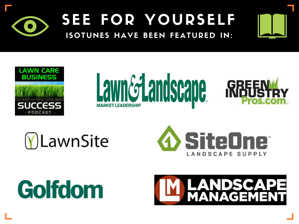 ISOtunes Features in Lawn Care