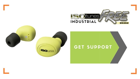 ISOtunes FREE Industrial Support
