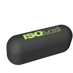 ISOtunes Safety Green Replacement Charging Case for ISOtunes FREE