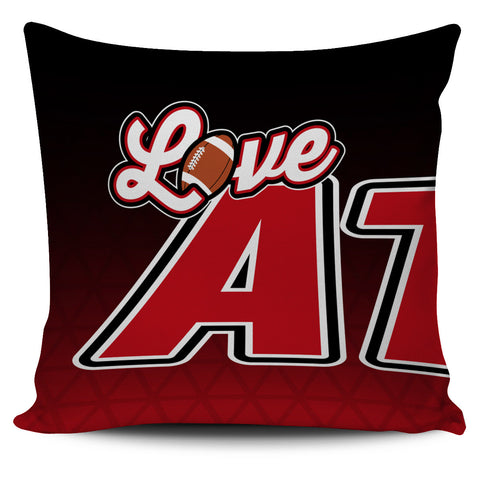 Love Atlanta Football Pillow Covers
