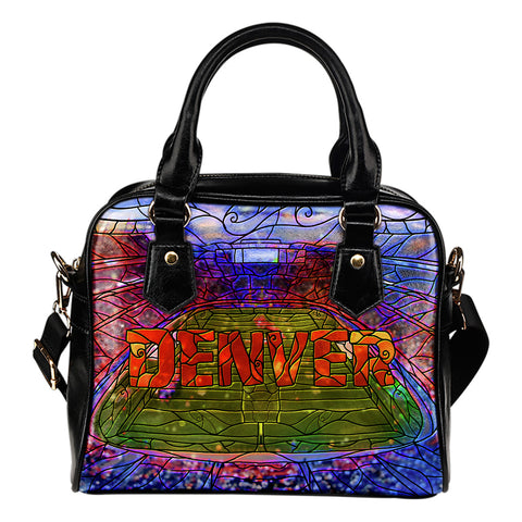 Denver Football Stained Glass Handbag