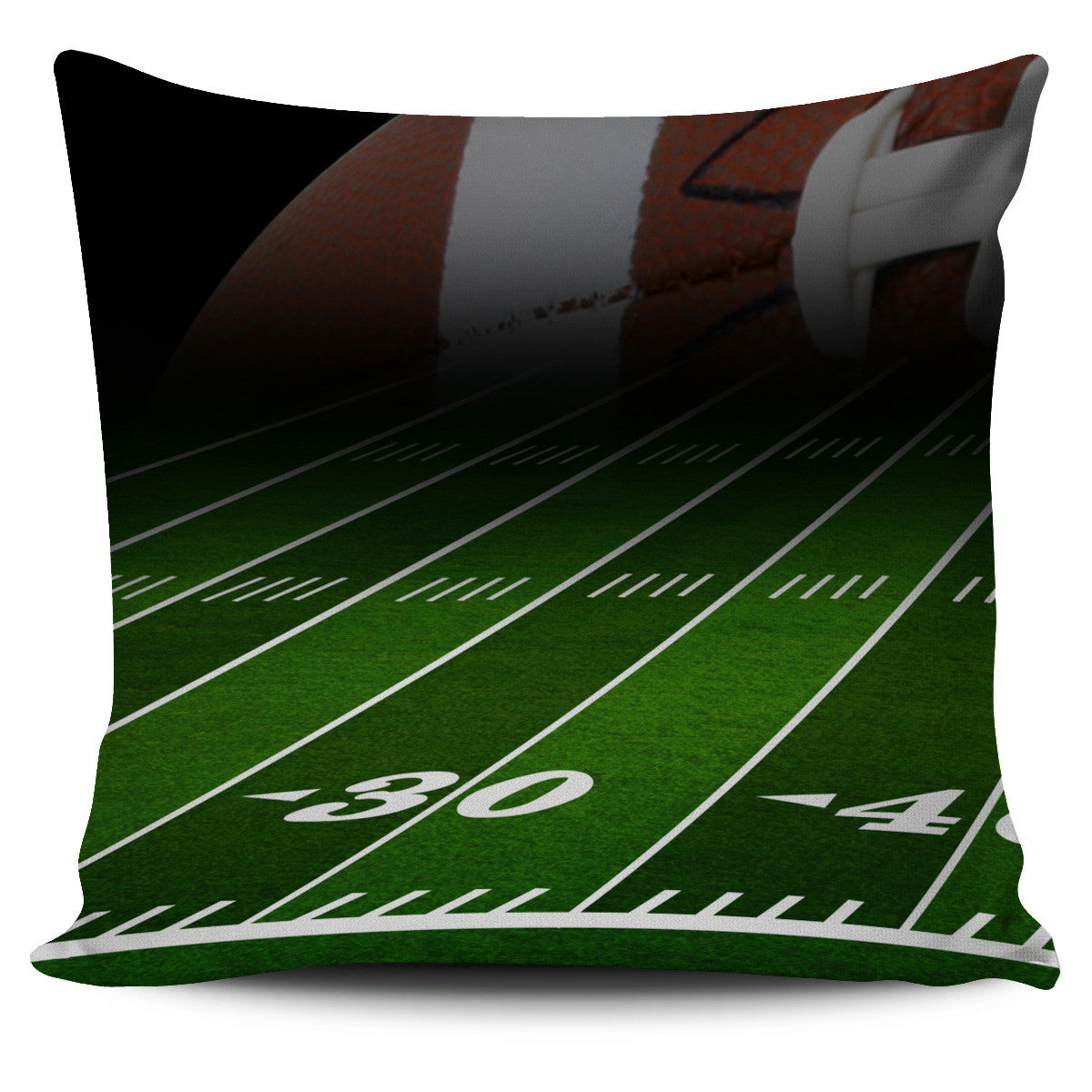 Football Field Pillow Covers