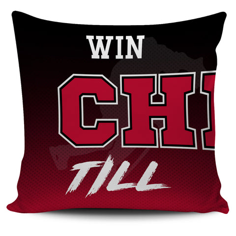 Win Lose or Tie Chicago Hockey Pillow Covers