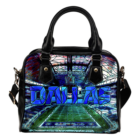 Dallas Football Stained Glass Handbag