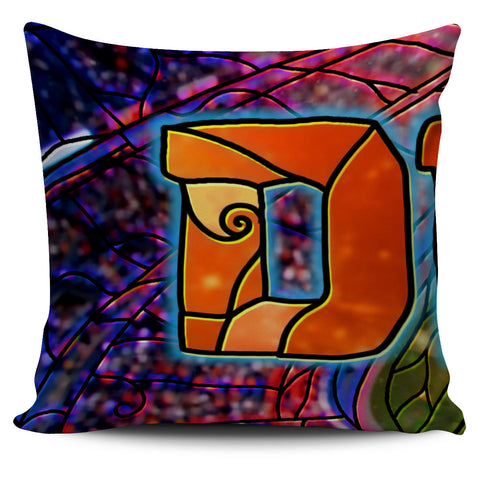 Denver Football Stained Glass Stadium Pillow Covers