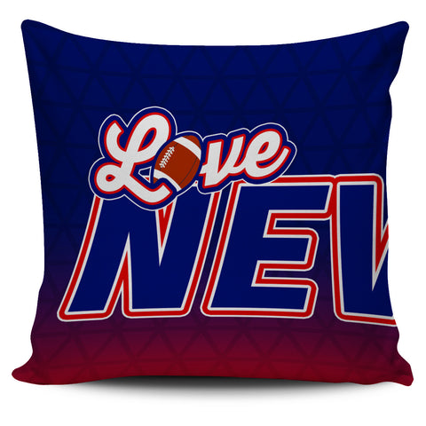 Love New England Football Pillow Covers