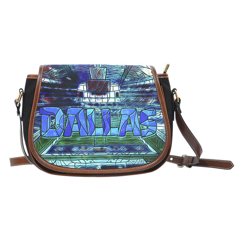 Dallas Football Stained Glass Saddlebag