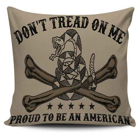 Don't Tread on Me Pillow Covers