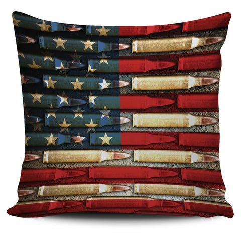 Bullet Flag Pillow Covers