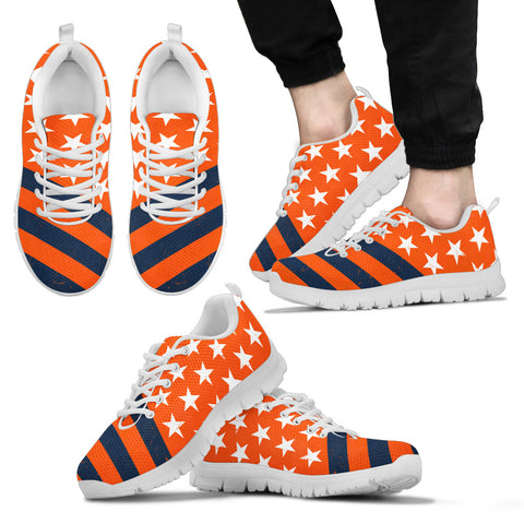 Denver Football Flag Sneakers