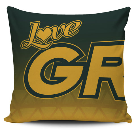 Love Green Bay Football Pillow Covers