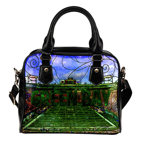 Green Bay Football Stained Glass Handbag