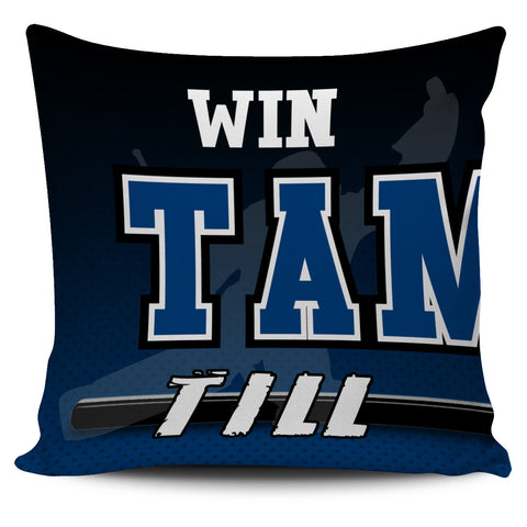Win Lose or Tie Tampa Bay Hockey Pillow Covers