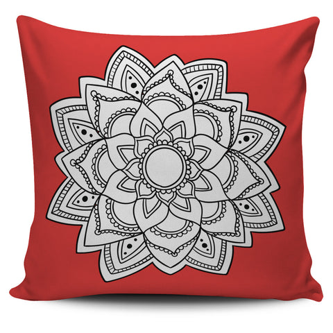 Mandala Throw Pillow Cover