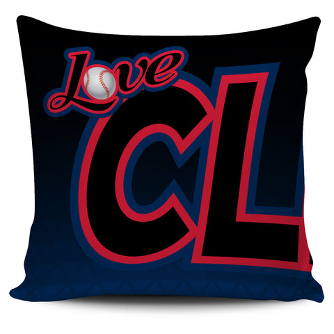 Love Cleveland Baseball Pillow Covers