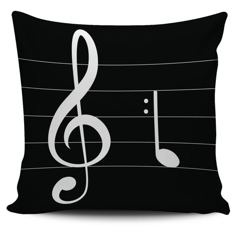 LOVE Music Pillow Covers
