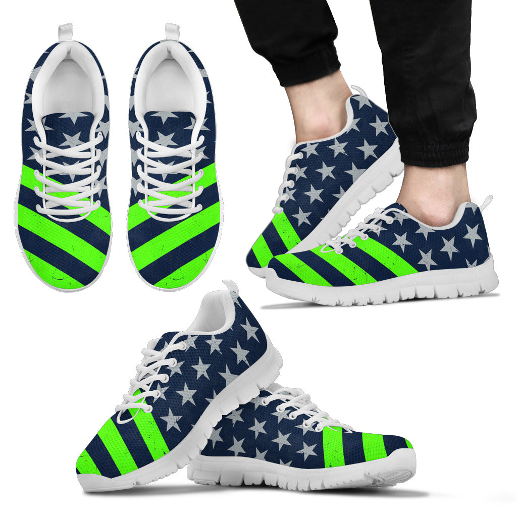 Seattle Football Flag Sneakers