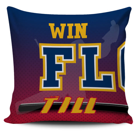 Win Lose or Tie Florida Hockey Pillow Covers