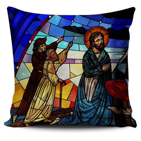 Nativity Scene Pillow Covers
