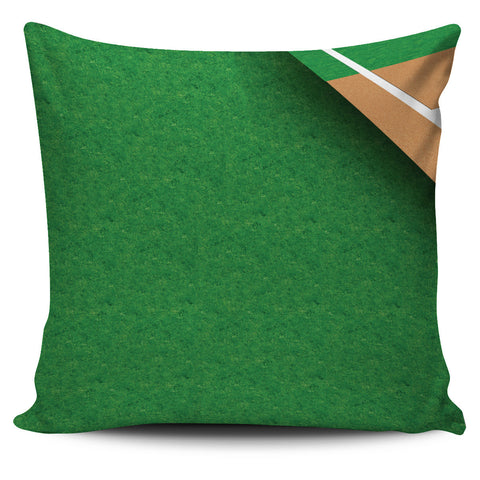 Baseball Field Pillow Covers