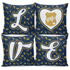LOVE Police Wife Pillow Covers