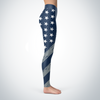 Dallas Football American Flag Leggings
