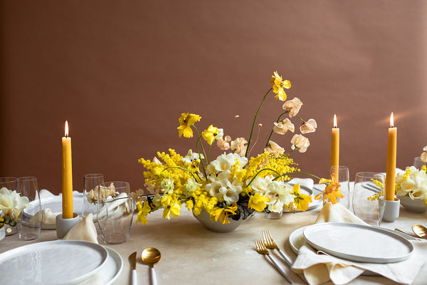 Featured: Gold + Earth Toned Modern Editorial
