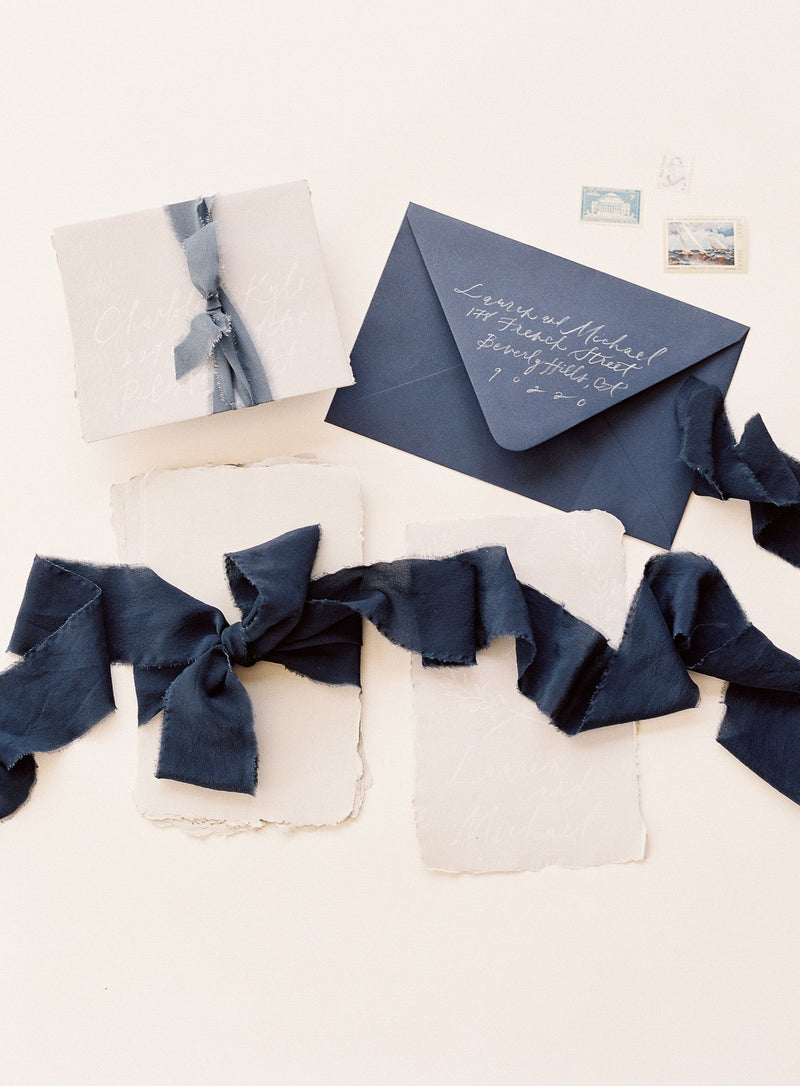 Classic Silk Ribbon in Storm