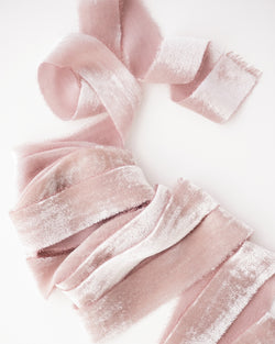 Dusk Silk Velvet Ribbon