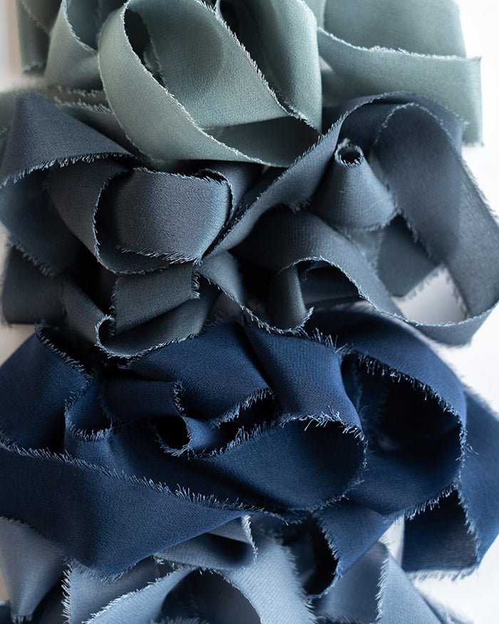 Classic Silk Ribbon in Lake