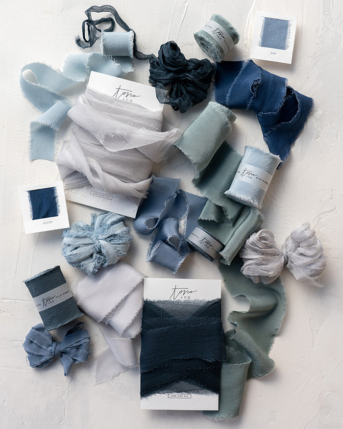 The Color Blue Sample Collection