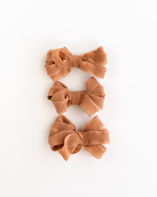 Rose Gold Silk Ribbon Trim