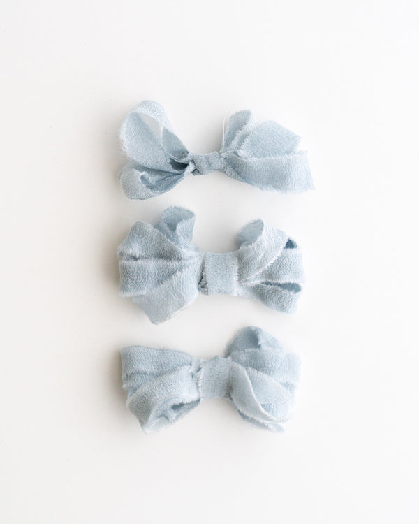 Sky Silk Ribbon Trim