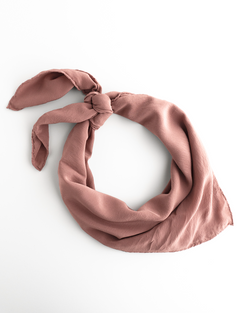 'The Classic' Washable Silk Scarf in Dusk