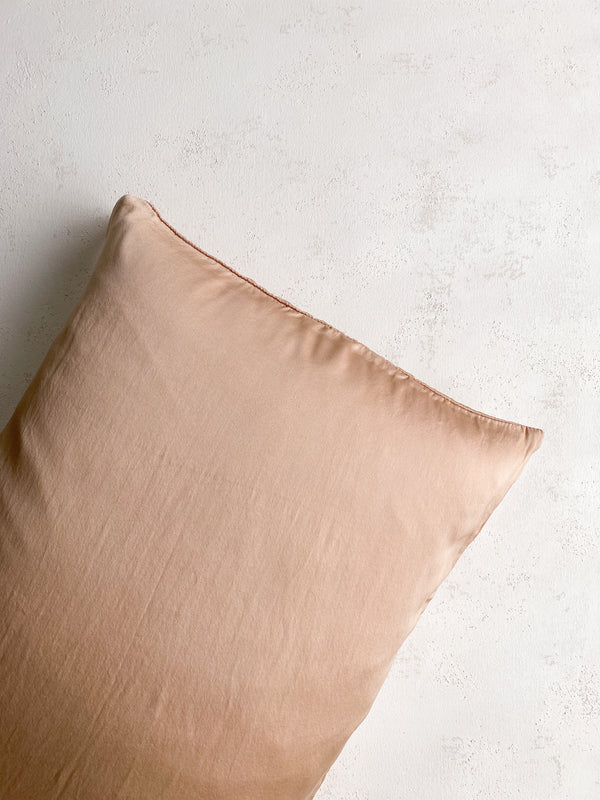 Silk Pillowcase in Dune