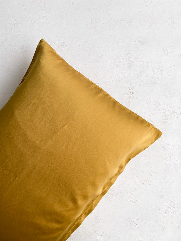 Silk Pillowcase in Oro