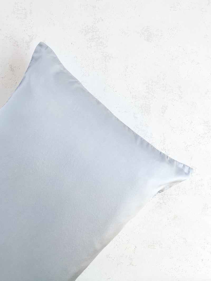 Silk Pillowcase in Cloud