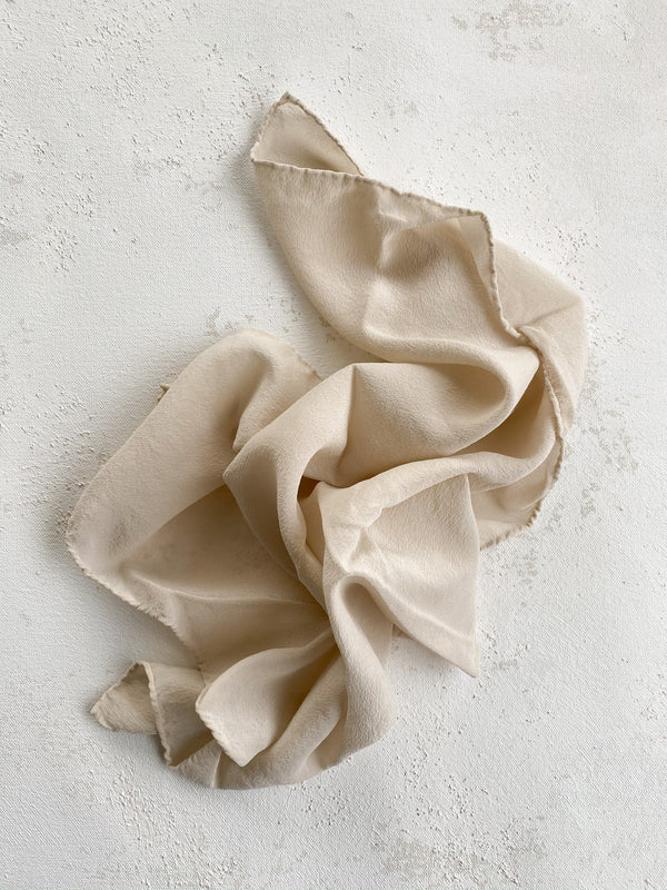 Bone Silk Scarf 003