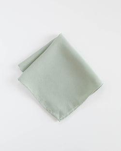'The Hankie' Washable Silk Scarf in Sage