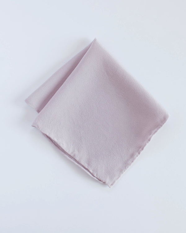 'The Hankie' Washable Silk Scarf in Lilac