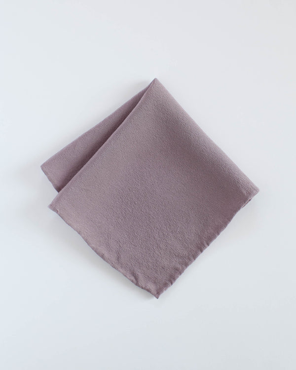 'The Hankie' Washable Silk Scarf in Mauve