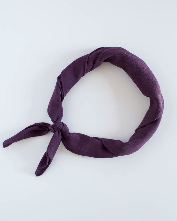 'The Scout' in Aubergine