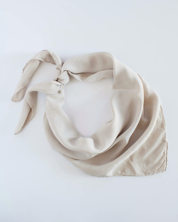 The Tono + co Classic Scarf in Bone makes the perfect everyday accessory. Lovingly hand-dyed in Santa Ana, California and available in 24 signature colors. Check out our website for more style, color, and lookbook inspiration.