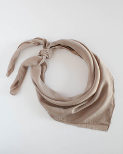 The Tono + co Classic Scarf in Fawn makes the perfect everyday accessory. Lovingly hand-dyed in Santa Ana, California and available in 24 signature colors. Check out our website for more style, color, and lookbook inspiration.