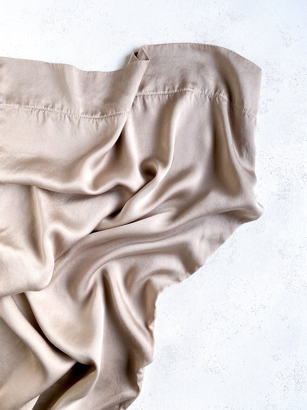 Silk Pillowcase in Fawn