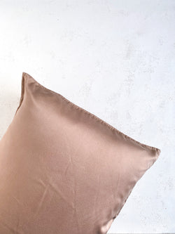 Silk Pillowcase in Mushroom