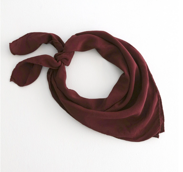 Red Silk Scarf 'The Classic' 222