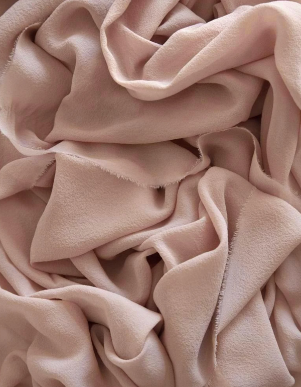 Peach Silk Classic Styling Textile 224